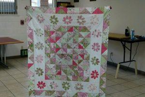 Irene's 1st quilt